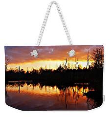 Sunrise Thanksgiving Morning Weekender Tote Bag