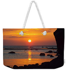 Weekender Tote Bag featuring the photograph Sunrise Therapy by Dianne Cowen