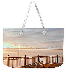 Sunrise To The Bay Weekender Tote Bag by Jonathan Nguyen