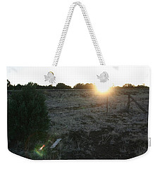 Weekender Tote Bag featuring the photograph Sunrize by David S Reynolds