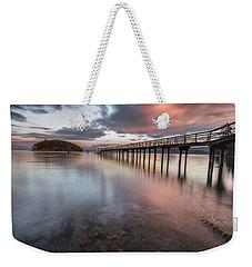 Sunset - Mayne Island Weekender Tote Bag