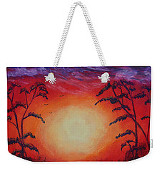 Sunset 1 Weekender Tote Bag by Jeanne Fischer