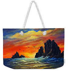 Sunset 2 Weekender Tote Bag by Bozena Zajaczkowska