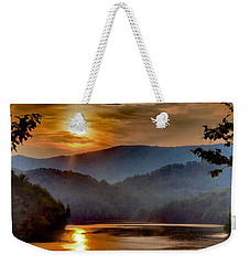 Sunset And Haze Weekender Tote Bag
