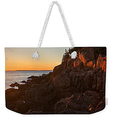 Weekender Tote Bag featuring the photograph Sunset At Bass Head   by Priscilla Burgers