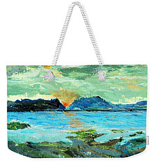 Sunset At Bic Weekender Tote Bag