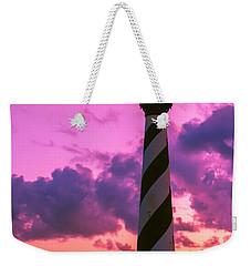 Sunset At Cape Hatteras Vertical  Weekender Tote Bag