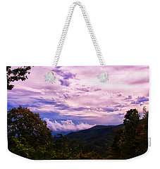 Sunset At Gorges State Park Weekender Tote Bag