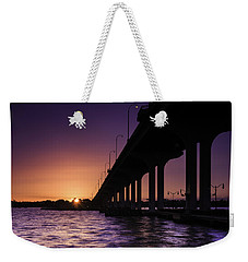Sunset At Jensen Beach Weekender Tote Bag