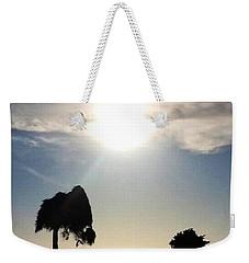 Weekender Tote Bag featuring the photograph Sunset At La Jolla by Susan Garren