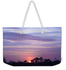 Sunset At Malibu Beach Lagoon Estuary Fine Art Photograph Print Weekender Tote Bag by Jerry Cowart