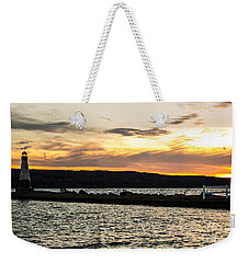 Sunset At Myers Weekender Tote Bag