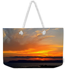 Sunset At Point Loma From Coronado California Weekender Tote Bag