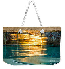 Sunset At The Pool Weekender Tote Bag