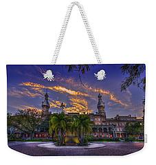 Sunset At U.t. Weekender Tote Bag