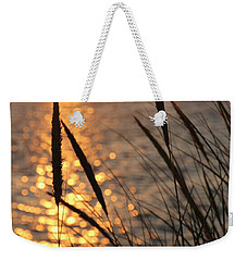 Weekender Tote Bag featuring the photograph Sunset Beach by Athena Mckinzie