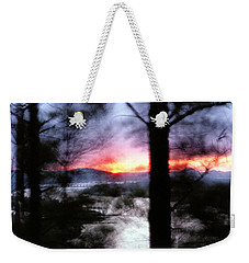 Sunset Atop Windy Emerald Park Weekender Tote Bag by Jason Politte