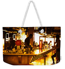Weekender Tote Bag featuring the photograph Sunset Bar by Ray Warren