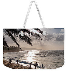 Sunset Beach Park Weekender Tote Bag