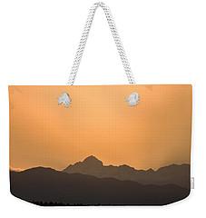 Sunset Behind The Julian Alps Weekender Tote Bag