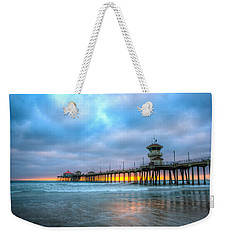 Sunset Beneath The Pier Weekender Tote Bag