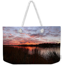 Sunset Bliss Weekender Tote Bag by Lourry Legarde