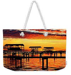 Sunset Breeze Weekender Tote Bag