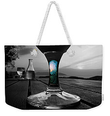 Sunset Cafe Weekender Tote Bag by Micki Findlay