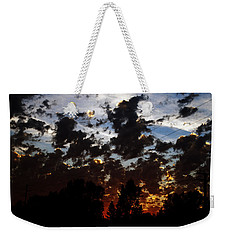 Sunset Clouds Weekender Tote Bag