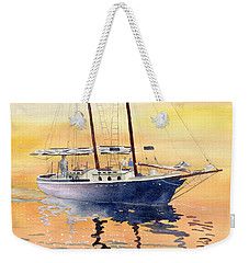 Sunset Cruise Weekender Tote Bag by Melly Terpening