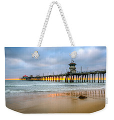 Sunset Drifting Under The Pier Weekender Tote Bag