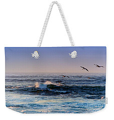Sunset Fly Weekender Tote Bag by Kathy Bassett