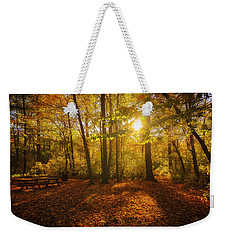 Sunset Forest Weekender Tote Bag