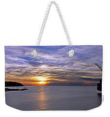 Sunset In Adriatic Weekender Tote Bag