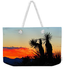 Sunset In Golden Valley Weekender Tote Bag