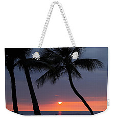 Sunset In Hawaii Weekender Tote Bag