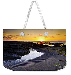 Sunset In Iceland Weekender Tote Bag by Gunnar Orn Arnason