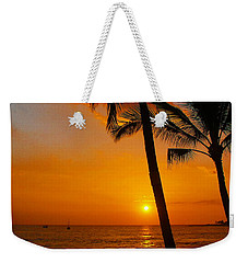 Sunset In Paradise Weekender Tote Bag by Athala Carole Bruckner