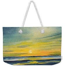 Sunset Weekender Tote Bag by Jane See