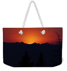 Sunset Weekender Tote Bag by Janie Johnson