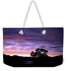 Weekender Tote Bag featuring the photograph Sunset Lake by Matt Harang