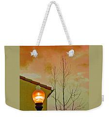 Sunset Lantern Weekender Tote Bag