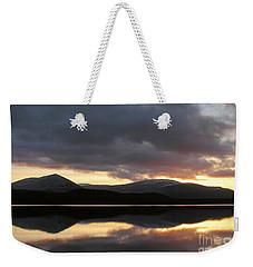 Sunset - Loch Morlich - Scotland Weekender Tote Bag by Phil Banks