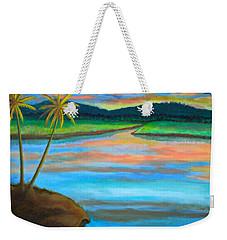Sunset  Weekender Tote Bag by Lorna Maza