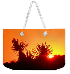 Sunset Near Castle Rock Weekender Tote Bag