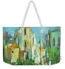 Sunset Neighborhood Weekender Tote Bag