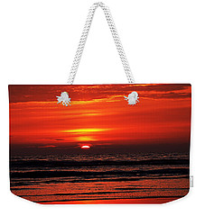 Sunset Weekender Tote Bag by Nick Kloepping