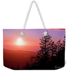 Sunset Off Mt Erie Washington Art Prints Weekender Tote Bag