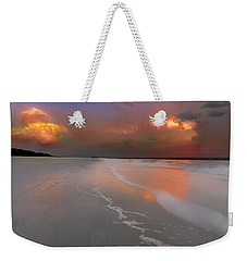 Sunset On Hilton Head Island Weekender Tote Bag by Peter Lakomy