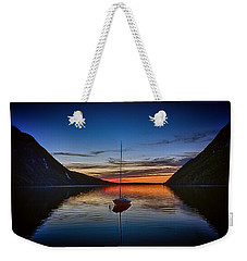 Sunset On Lake Willoughby Weekender Tote Bag